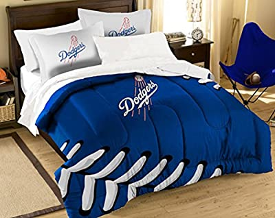 The Northwest Company MLB La Dodgers Twin/Full Embroidered Comforter Set