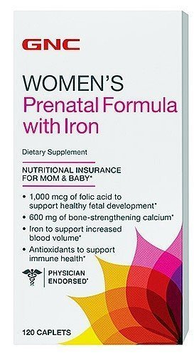 gnc-womens-prenatal-formula-with-iron-120-tablets-by-gnc