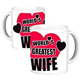 ToduGift world Greatest wife Ceramic Mug