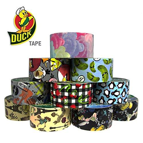 [10 Duck Brand Designer Printed Pattern Duct Tape Rolls Art Craft DIY Angry Birds] (Epic Diy Halloween Costumes)