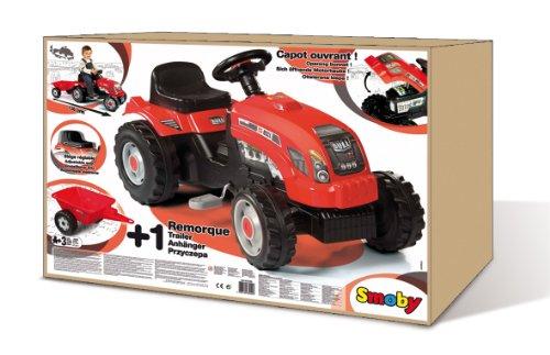 smoby 033045 v lo et v hicule pour enfant tracteur. Black Bedroom Furniture Sets. Home Design Ideas