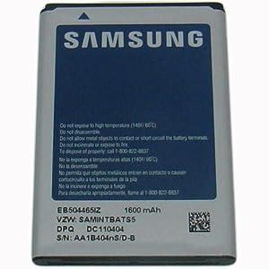 Genuine Samsung EB504465IZ 1600mAh Standard Li-Ion Battery for Samsung DROID Charge i510