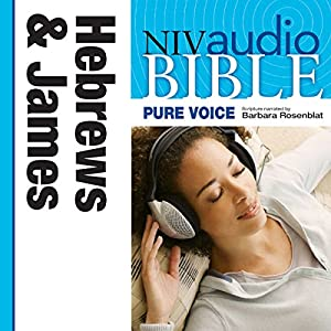 NIV New Testament Audio Bible, Female Voice Only: Hebrews and James Audiobook