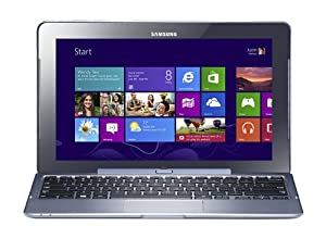 Samsung ATIV Smart PC Pro 11.6-inch convertible Laptop /tablet-Blue (Intel Atom Z2760 1.8GHz Processor, 2GB RAM, 64GB SSD, WLAN, 3G, 2x camera, Integrated Graphics, Windows 8)
