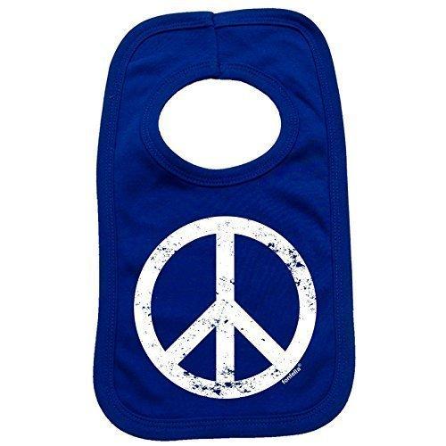 123t-Baby-PEACE-DESIGN-Baby-Ltzchen-Einheitsgre-knigsblau