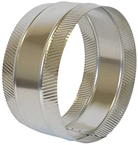 Speedi-Products FDSC-10 10-Inch Diameter Flex and Sheet Metal Duct Splice Connector Collar