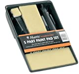 5 part Harris taskmasters paint pad set tray & pads