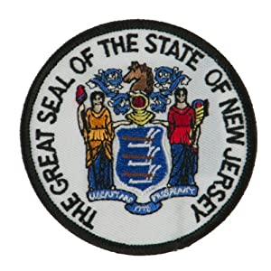 Eastern State Seal Embroidered Patch by Karmas Canvas