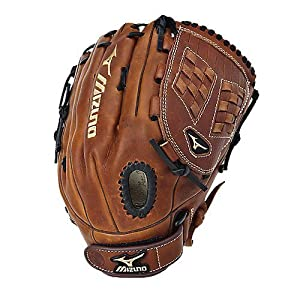Mizuno GMVP1300F1 MVP Fast Pitch Softball Fielder's Mitt (Copper, 13.00-Inch) (Right Handed Throw)
