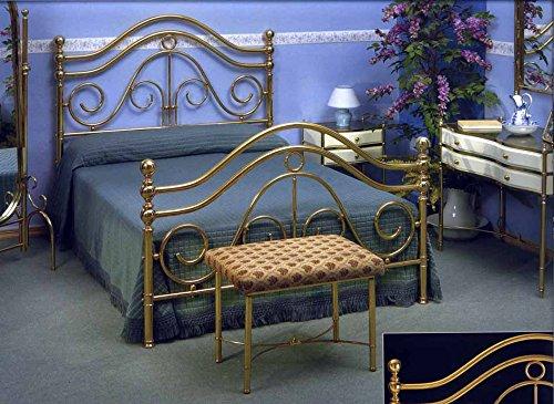 Lits en laiton et têtes de lit: modèle TROVES.