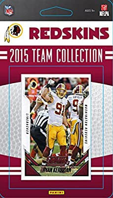 Washington Redskins 2015 Score Factory Sealed Complete Mint 13 Card Team Set Including Kirk Cousins, Robert Griffin, Alfred Morris Plus