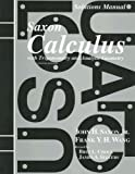 img - for Solutions Manual to accompany Saxon Calculus with Trigonometry and Analytic Geometry book / textbook / text book