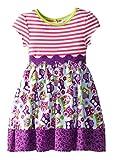 Rare Editions Girls Summer Fall Owl Print Dress (2t-6x)