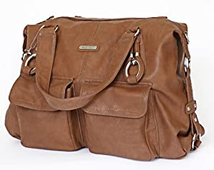Vanchi NU Leather Victoria Shopper (Tan)