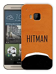 "Humor Gang Hitman Minimal Printed Designer Mobile Back Cover For ""HTC ONE M9"" (3D, Matte, Premium Quality Snap On Case)"