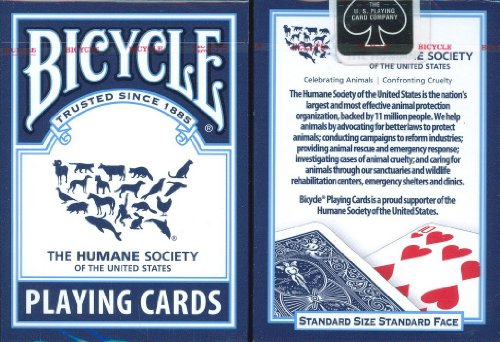 Bicycle Humane Society Playing Cards