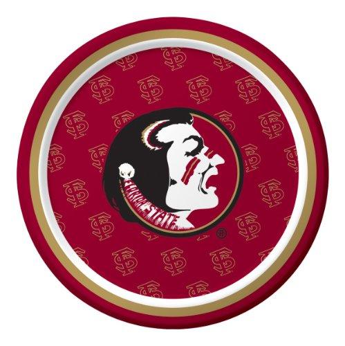 Creative Converting Florida State Seminoles Dessert Paper Plates (8 Count)
