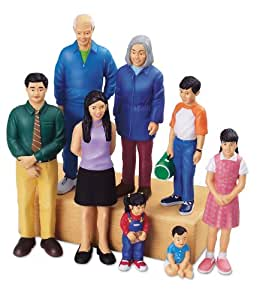 Lakeshore Learning Materials Pretend And Play People Asian Family