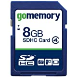 GoMemory 8GB SDHC Memory Card (Class 4)by GoMemory