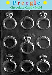 buy Plp-W051 Engagement/Wedding Rings Chocolate Candy Mold