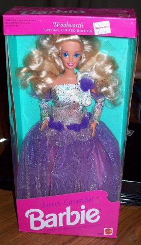 Sweet Lavender Barbie Woolworth Special Limited Edition
