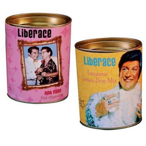 Liberace Lemon Drop and Pink Piano Drink Mix Set (Gourmet,McStevens by Creative Ventures,Gourmet Food,Beverages)