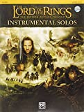 img - for The Lord of the Rings Instrumental Solos: Flute, Book & CD (The Lord of the Rings; the Motion Picture Trilogy) book / textbook / text book