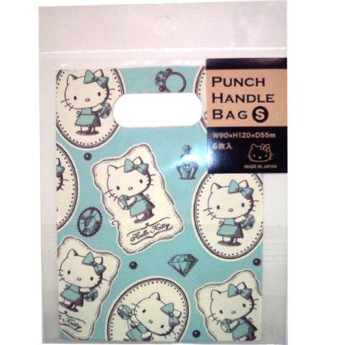 カクケイ Hello Kitty oval punching bag S アンティークジュエル 6 pieces 2 pieces Pack KT-4401S