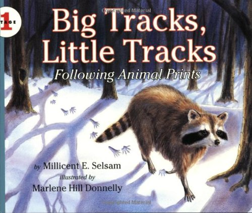 Big Tracks, Little Tracks: Following Animal Prints (Let'S-Read-And-Find-Out Science, Stage 1) front-1000051