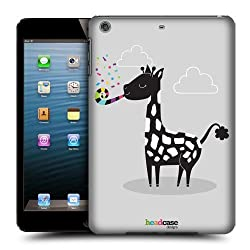 Head Case Designs Party Popper Giraffe Party Animals Protective Snap-on Hard Back Case Cover for Apple iPad mini with Retina Display iPad mini 3