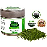 SUPER ORGANIC MATCHA GREEN TEA POWDER 30g - HIGHEST CEREMONIAL GRADE - Superfood Antioxidant - Fat Burner - Boosts Energy - Effective Detox Tea - Free From Heavy Metals - TOP QUALITY