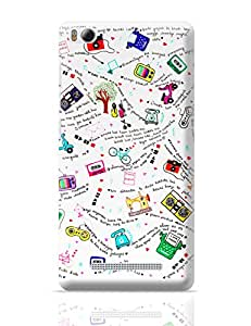 PosterGuy Bollywood Lyrics Collage Quirky Xiaomi Mi 4i Cover