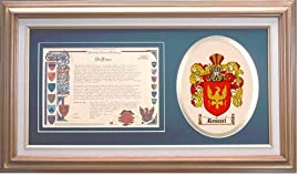 Roussel Family Name History and Coat of Arms / Family Crest