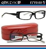 【キューブリック メガネ】Qbrick メガネフレーム ITY0103