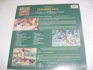 Laserdisc Watership Down A Martin Rosen Film Cartoon about Rabbits John Hurt, Richard Briers Zero Mostel Widescreen