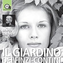 Il giardino dei Finzi-Contini (       UNABRIDGED) by Giorgio Bassani Narrated by Marco Baliani