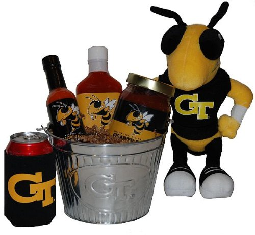 Georgia Tech Tailgate Grilling Gift Basket -