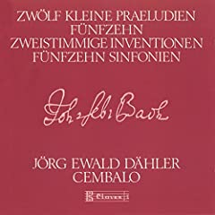 15 Two-Part Inventions: VI. E Major, BWV 777 - VII. E Minor, BWV 778