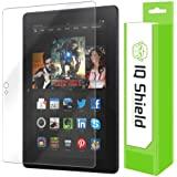 IQ Shield High Definition Clear Screen Protector for Amazon Kindle Fire HDX 7-Inch - Retail Packaging