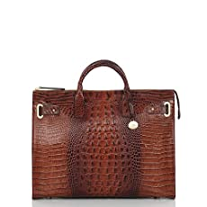 Business Tote<br>Pecan Melbourne