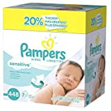Pampers Sensitive Wipes 7x Refill Pack