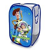 Disney Pixar's Toy Story Pop-up Hamper Foldable Toy Storage Basket Pop Up Mesh Laundry Bag/Bin