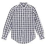 Nautica Men's Medium Tartan Plaid Button Down Shirt