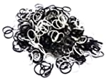 Black and White Loom Refill 600 Bands...
