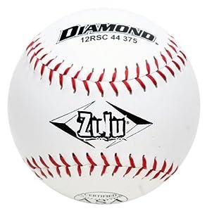 Buy Diamond Sports 12RSC 44 375 ASA Super Synthetic Softball, Dozen by Diamond Sports