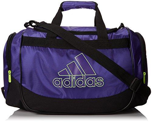 adidas Defender Duffel Bag, 11 3/4 x 20 1/2 x 11-Inch, Power