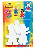 Hama Beads Pegboards includes Rabbit/ Flower and Fairy