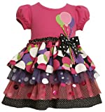 Balloon Applique Birthday Party Dress