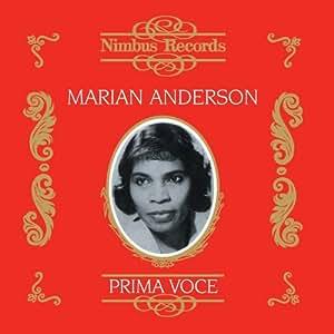 Marian Anderson: Oratorios and Spirituals