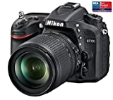 NIKON D7100 + AF-S DX Nikkor zoom lens 18-105 mm f / 3.5-5.6G ED VR + 2 YEARS WARRANTY